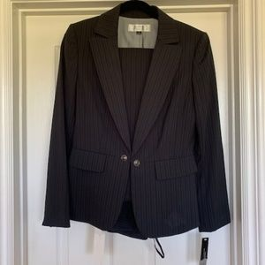 Blue Striped Suit (Pants and Jacket)